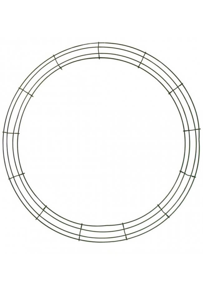 Wire Wreath Frame 24in