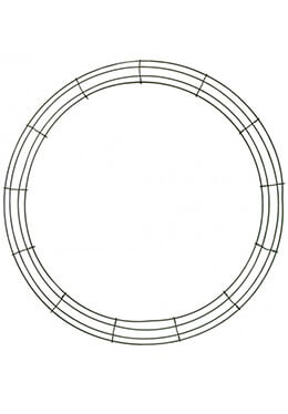 "Box Wire 24"" Wreath Frame"