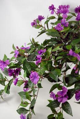 Silk Impatiens Lavender Hanging