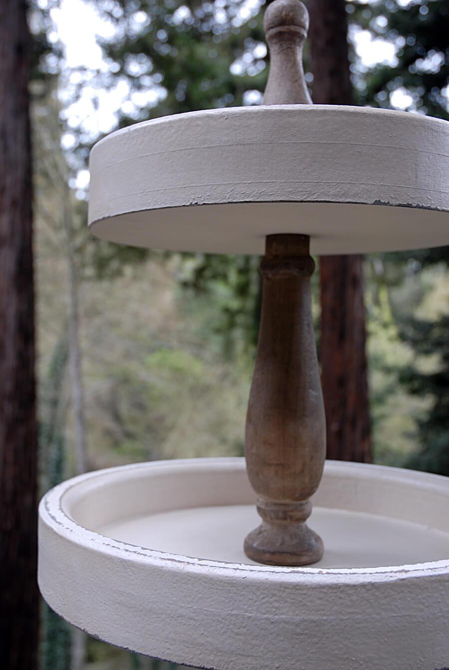 3 Tier Wood Dessert Stand