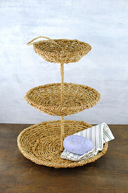 3-Tier Rope Tray 15in