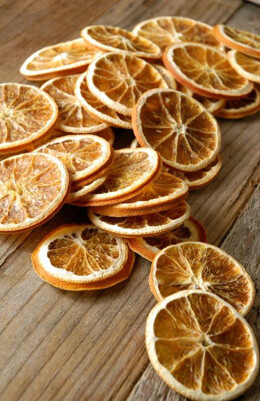 Dried Orange Slices 35 Pieces