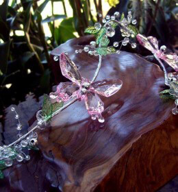 Crystal Butterfly Garlands