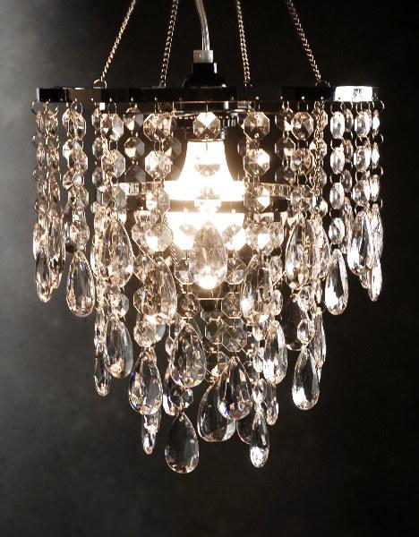 Chandeliers That Plug In: Crystal Chandelier 3 Tiers,Lighting