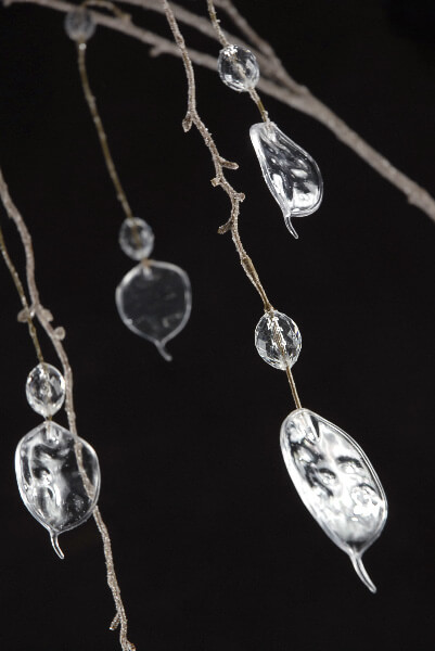 """55"""" Crystal Lunaria Branches"""