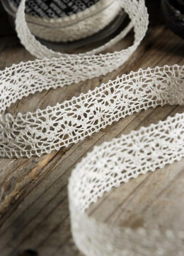 L�beck Needle Lace 1 in x 10 yards Ivory