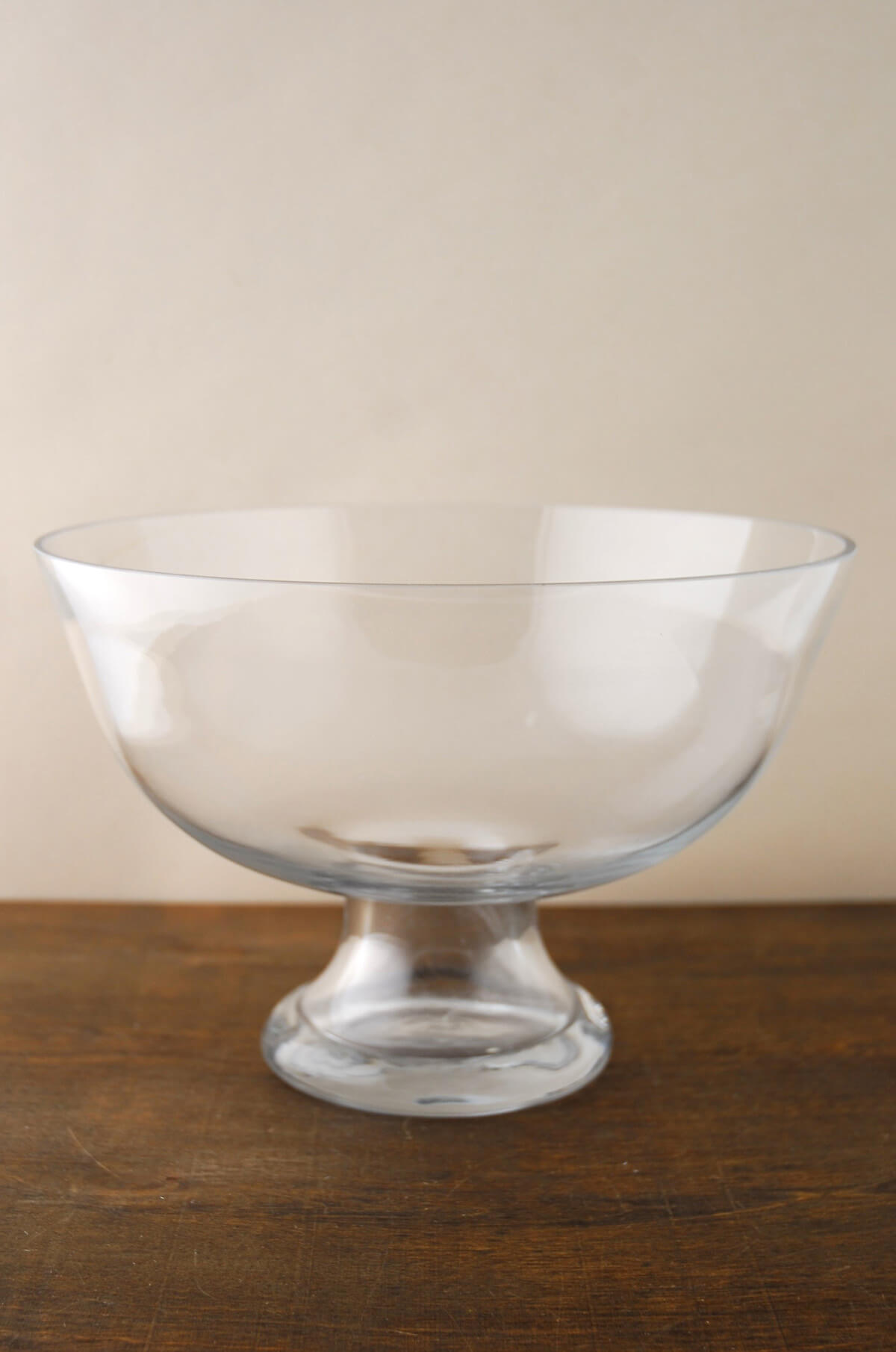 Pedestal Floating Candle Bowl 10in