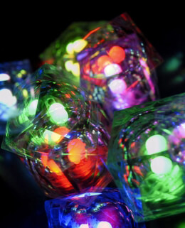LED Cubes Crystal | Pack of 8