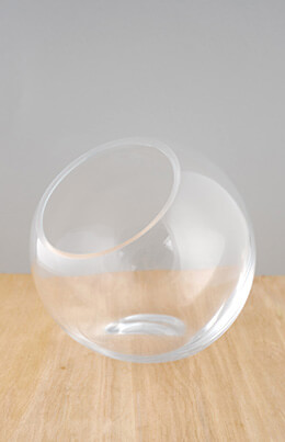 Studio Glass 7.5 x 7 Glass Orb Bowl