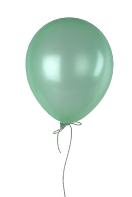 Seafoam Blue Pearl Balloons Helium Quality 12in (Pack of 100)