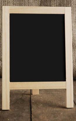 Table Top Chalkboard Easel 8.5 x 6