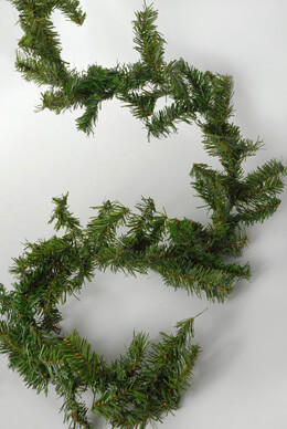 Artificial Canadian Pine Garland 9' x 8""