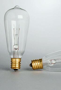 Edison Bulb 7 Watt-ST40 Replacement Bulbs 2/Pack