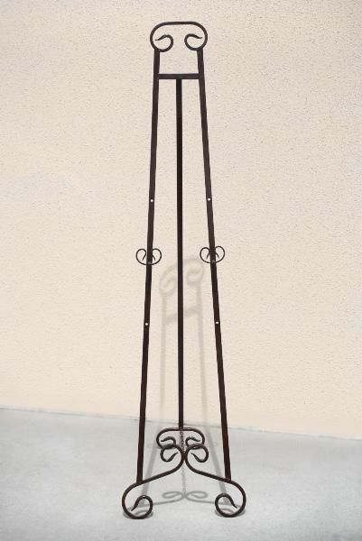 Set of Two Floor Standing Easels 70in Adjustable
