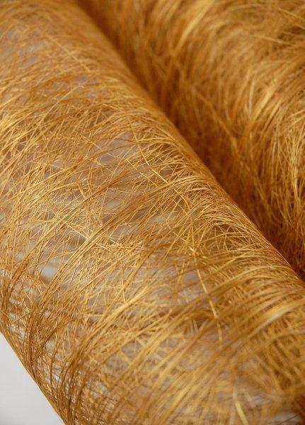 "Gold Natural Abaca Fiber 19"" x  10yd"