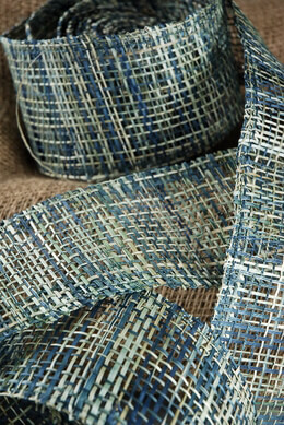 Abaca Ribbon Blue 10yd