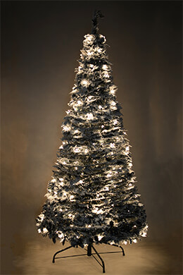 Accordion Tree Frosted 6ft