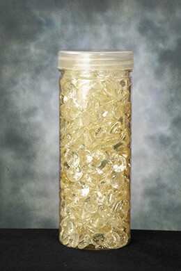 Acrylic Diamonds Champagne 1/2in 190g