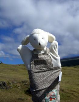 Albert Lamb Hand Puppet Moulin Roty