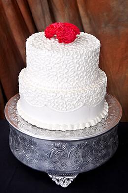 Aluminum Cake Stand 14in