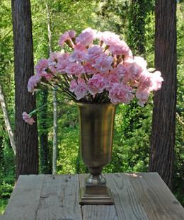 """Aluminum Trumpet Vase 5.25"""" x 11"""""""