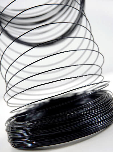 Aluminum Wire Black 158ft