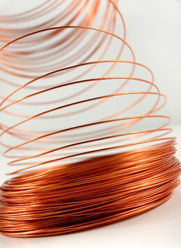 Aluminum Wire Copper / Orange 1.0mm 158 feet