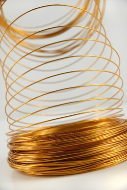 Aluminum Wire Gold 158ft