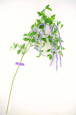 Artificial Lavender Amaranthus Branch 39in