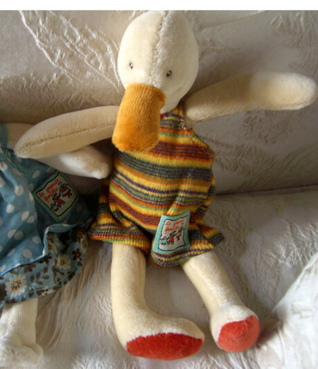 "Amedee Duck 9"" Moulin Roty"