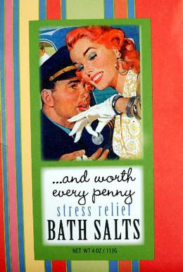 And Worth Every Penny Bluebird Bath Salts 4 oz.