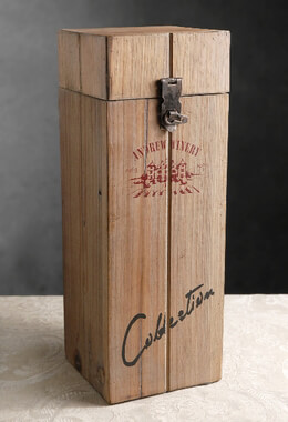 Andrew Winery Wood Wine Box