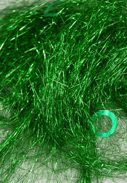Green Angel Grass Shred Tinsel and Sequins 1.4 ounce pkg Saint Patricks Day Decorations