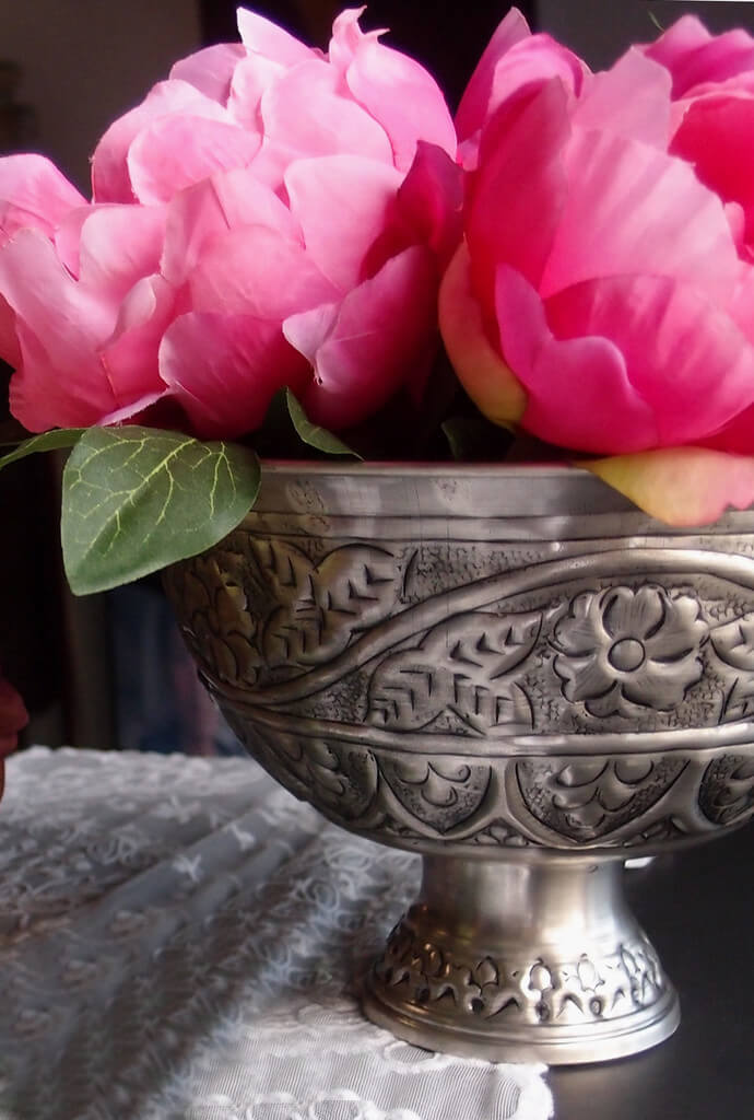Silver Plated Compote
