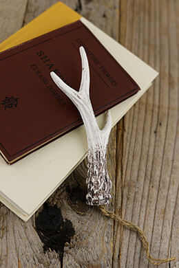 Antler Ornament 6in (Pack of 12)