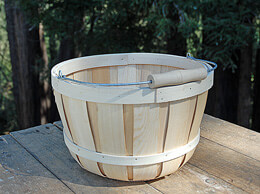 Chipwood Apple Basket Round - Large