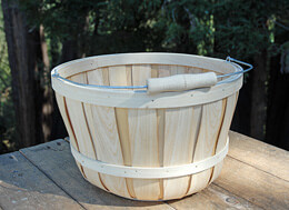 Chipwood Apple Basket Round - Extra Large
