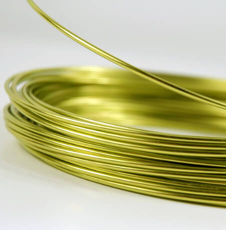 Apple Green Aluminum Wire 12 gauge 39 foot