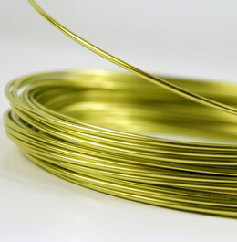 Aluminum Wire Apple Green 39ft