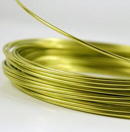 Aluminum Wire Apple Green 39ft