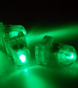 5 AquaBrites LED Submersible Green