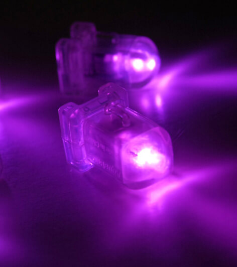 AquaBrites LED Submersible in Orchid Pink