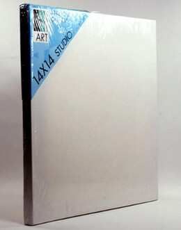 "Art Alternatives Studio Stretched Canvas 14 x 14 with 7/8"" deep"
