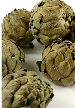 Natural Preserved Green Artichokes  (10 chokes)