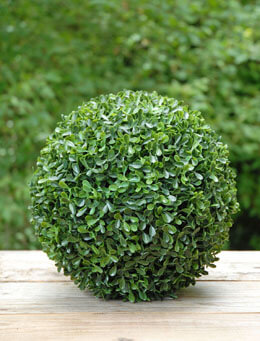 Artificial Boxwood Ball 10in