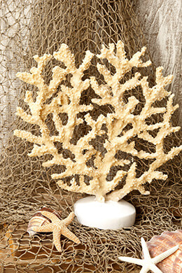 Artificial Caledonia Coral Statue 12in