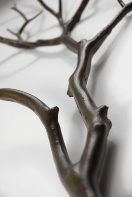 Artificial Manzanita Branches Dark Wood 28 in.