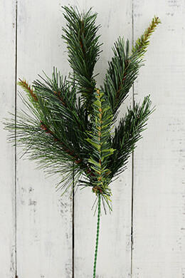 Artificial Pine Branches 20in (Set of 24)