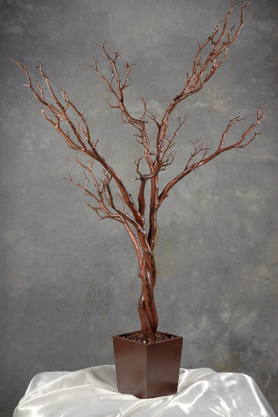 "Potted Brown Manzanita Tree 48"" Artificial"