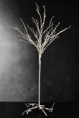 "Artificial Tree White 45"" x 12"""